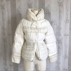 Ermanno Scervino down puff jacket 38 XS size 2 / 4